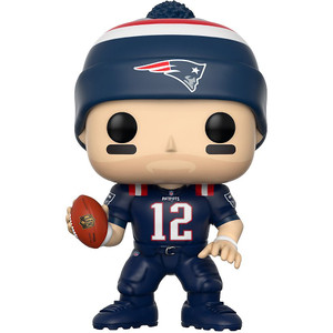 Tom Brady [Patriots Color Rush]: Funko POP! Football x NFL Vinyl Figure [#059]