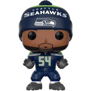 Bobby Wagner [Seahawks Home]: Funko POP! Football x NFL Vinyl Figure [#071]