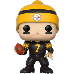 Ben Roethlisberger [Steelers Color Rush]: Funko POP! Football x NFL Vinyl Figure [#076]