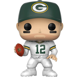 Aaron Rodgers [Green Bay Color Rush]: Funko POP! Football x NFL Vinyl Figure [#043]