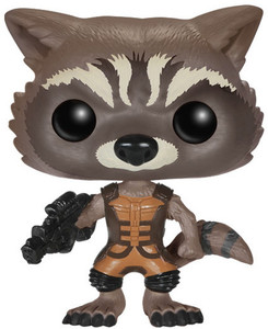 Rocket Raccoon: Funko POP! x Guardians of the Galaxy Vinyl Figure