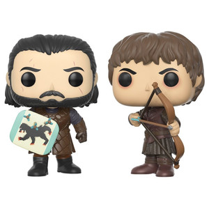 Battle of the Bastards: Funko POP! x Game of Thrones Vinyl Figure