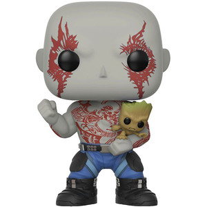 Drax w/ Groot (f.y.e. Exclusive): Funko POP! Marvel x Guardians of the Galaxy 2 Vinyl Figure [#262]