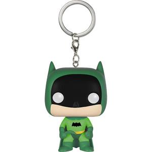 Batman [Green]: Funko Mystery Pocket POP! x The Rainbow Batman Mini-Figural Keychain
