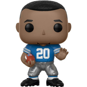 Barry Sanders [Lions Home]: Funko POP! Football x NFL Legends Vinyl Figure [#081]