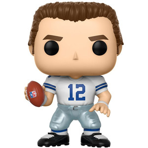 Roger Staubach [Cowboys Home]: Funko POP! Football x NFL Legends Vinyl Figure [#082]