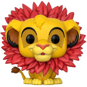 Simba [Leaf Mane]: Funko POP! Disney x Lion King Vinyl Figure [#302]