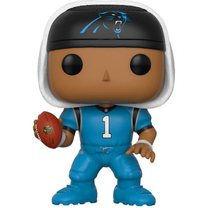"Cam Newton [Panthers Color Rush] (Toys ""R"" Us Exclusive): Funko POP! Football x NFL Vinyl Figure [#046]"