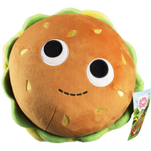 "Bunford Burger [Medium]: ~8.5"" Kidrobot Yummy World Plush"