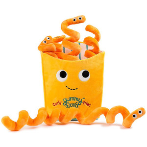 "Hurley Curly Fries [Large]: ~12.5"" Kidrobot Yummy World Plush"