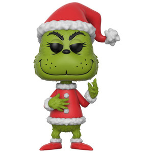 The Grinch [Santa]: Funko POP! Book x Dr. Seuss Vinyl Figure [#012]