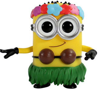 Hula Minion: Funko POP! Movies x Despicable Me 2 Vinyl Figure
