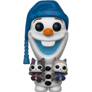 Olaf with Kittens: Funko POP! Disney x Olaf's Frozen Adventure Vinyl Figure [#338]