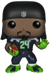 Marshawn Lynch - Seahawks: Funko POP! x NFL Vinyl Figure