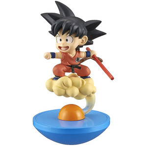 "Son Goku (Kid) & Flying Nimbus: ~3.1"" DragonBall Super x Megahouse Yura Colle ~ Shenron Returns ~ Mini-Figure"