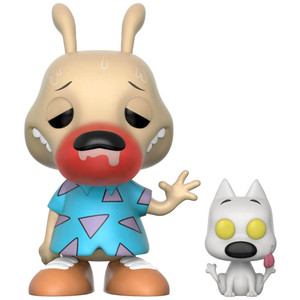 Rocko & Spunky (Chase Edition): Funko POP! Animation x Nickelodeon Rocko's Modern Life Vinyl Figure [#320]
