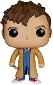 Tenth Doctor: Funko POP! x Doctor Who Vinyl Figure