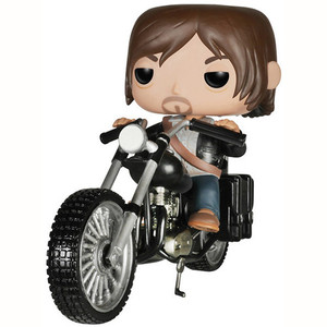 Daryl Dixon's Chopper: Funko POP! Rides x Walking Dead Vinyl Figure