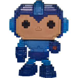 Mega Man (GameStop Exclusive): Funko POP! 8-bit x Mega Man Vinyl Figure [#013 / 22857]