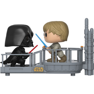 Darth Vader & Luke Skywalker Cloud City Duel (Walgreens Exclusive): Funko POP! Movie Moments x Star Wars Vinyl Figure [#226]