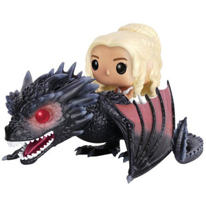 Daenerys w/ Drogon: POP! Rides x Game of Thrones Vinyl Figure [#015]
