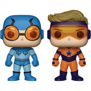 Blue Beetle & Booster Gold (PX Exclusive): Funko POP! Heroes x DC Universe Vinyl Figure