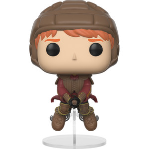Ron Weasley [on Broom]: Funko POP! x Harry Potter Vinyl Figure [#054]