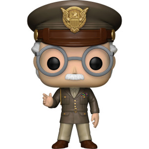 Stan Lee (Walmart Exclusive): Funko POP! Marvel x Captain America - The First Avengers Vinyl Figure [#282]