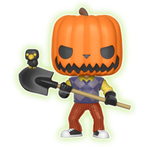 "Neighbor Pumpkinhead (Toys ""R"" Us Exclusive): Funko POP! Games x Hello Neighbor Vinyl Figure [#266 / 25902]"