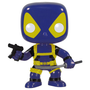X-Men Deadpool (Blue): Funko POP! x Marvel Universe Bobble-Head Vinyl Figure