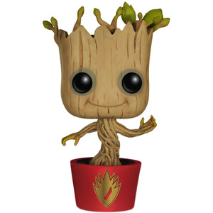 Dancing Groot (EE Exclusive): Funko POP! Marvel x Guardians of the Galaxy Vinyl Figure [#065 / 05199]