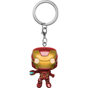 Iron Man: Funko Pocket POP! x Avengers - Infinity War Mini-Figural Keychain [27303]
