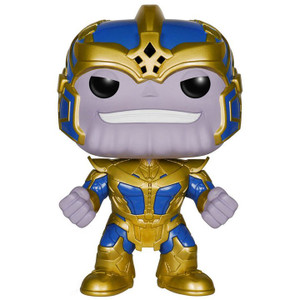 "Thanos: ~6"" Funko Deluxe POP! x Guardians of the Galaxy Vinyl Figure"