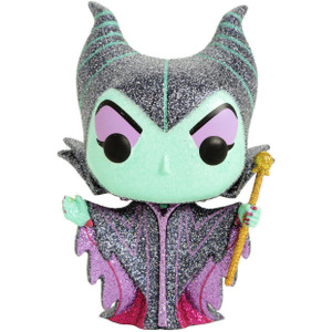Maleficent [Diamond Collection] (Hot Topic Exclusive): Funko POP! Disney x Sleeping Beauty Vinyl Figure [#384 / 29132]