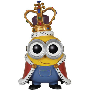 King Bob: Funko POP! Movies x Minions Vinyl Figure