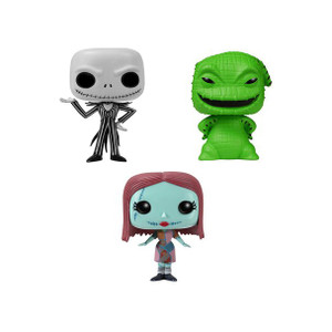 Jack, Sally, Oogie Boogie Tin Boxset: Pocket POP! x Disney Mini-Figure
