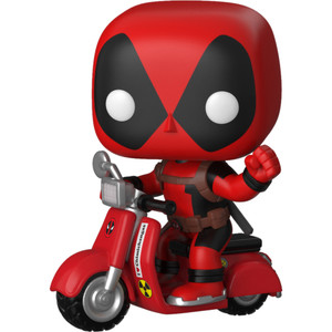 Deadpool on Scooter: POP! Rides x Deadpool Vinyl Figure [#045 / 30969]