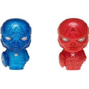 Captain America [Red & Blue]: Funko Hikari XS x Marvel Universe Vinyl Figure [23785]