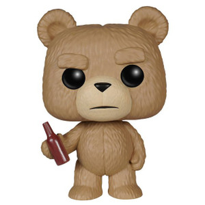 Ted (With Bottle): Funko POP! Movies x Ted 2 Vinyl Figure