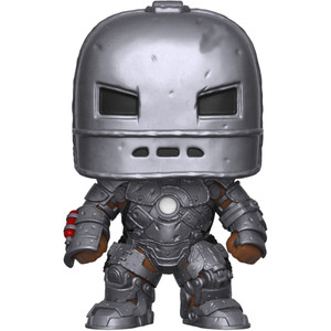 Iron Man [Mark 1] (2018 Summer Con Exclusive): Funko POP! Marvel x Marvel Stud10s - The First Ten Years Vinyl Figure [#338 / 30456]