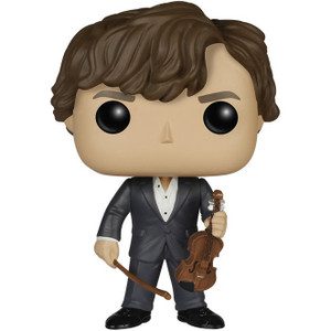 Sherlock With Violin: Funko POP! x Sherlock Vinyl Figure