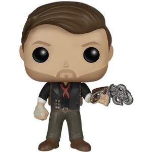 Booker DeWitt with Skyhook: Funko POP! Games x Bioshock Vinyl Figure
