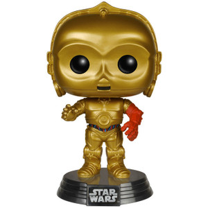 Ep. 7 C-3PO: Funko POP! x Star Wars Vinyl Figure