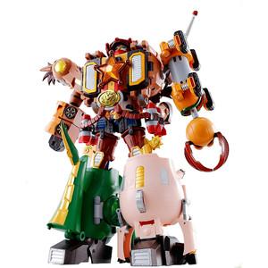 Woody Robo Sheriff Star: Chogokin x Disney Pixar Toy Story Combination Diecast Action Figure