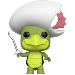 Touche Turtle: Funko POP! x Hanna-Barbera Vinyl Figure