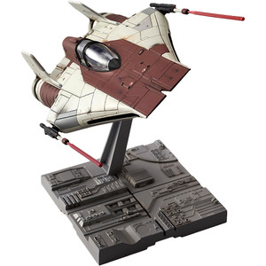 A-Wing Starfighter: Bandai Star Wars 1/72 Plastic Model Kit
