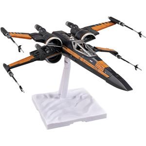 Poe's X-Wing Fighter: Bandai Star Wars 1/72 Plastic Model Kit