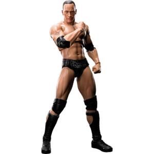 The Rock: S.H. Figuarts x WWE Action Figure