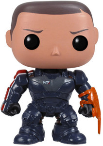 Commander Shepard: Funko POP! Games x Mass Effect Vinyl Figure