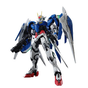 GN-0000+GNR-010 00 Raiser: Gundam 00 Perfect Grade 1/60 Model Kit (PG #013)